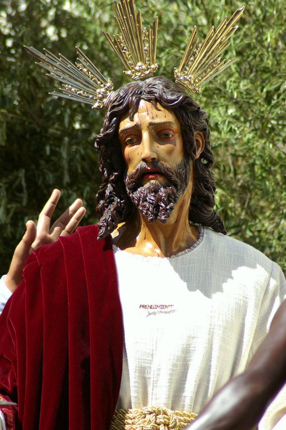 Nuestro Padre Jes�s del Prendimiento, traicionado por Judas